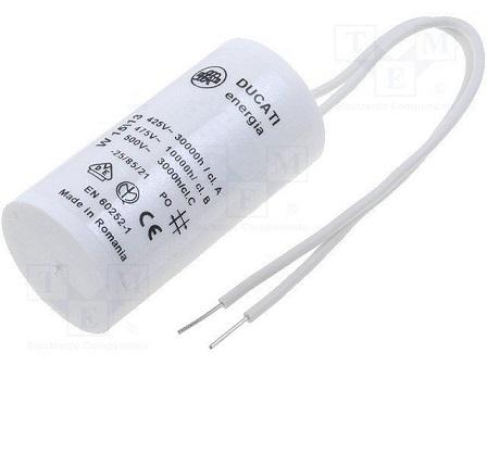 Kondensatori elektromotoriem ar vadiem