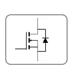 N kanalu lauku tranzistori