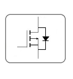 P kanalu lauku tranzistori
