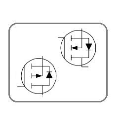 N/P kanalu lauku tranzistori