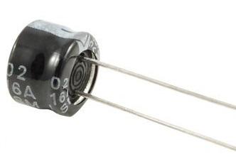 Kondensātori elektrolitiskie Mini 105 grad