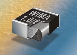 Kondensātori plēves, poliefirs SMD