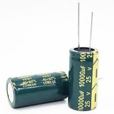 Kondensātori elektrolitiskie zemas induktivitātes LOW ESR