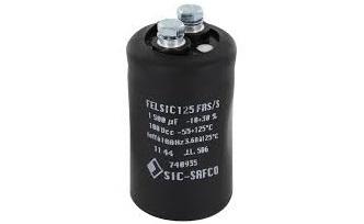 Kondensātori elektrolitiskie ar klemēm