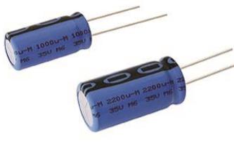 Kondensātori elektrolitiskie 125 grad